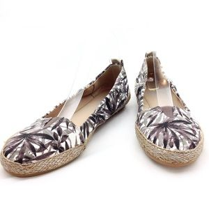 E360 Easy Spirit Canvas Espadrille Loafers 8.5@